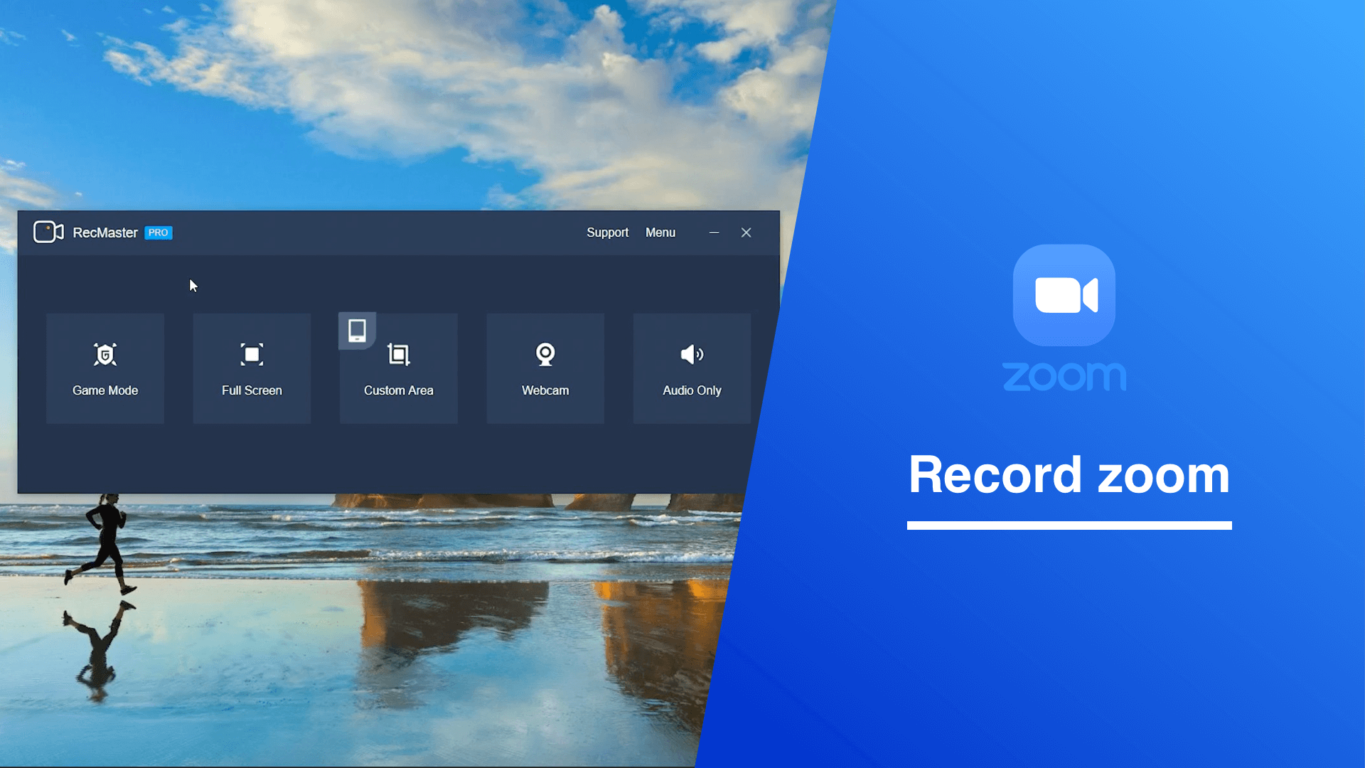 How to record online meeting from Zoom