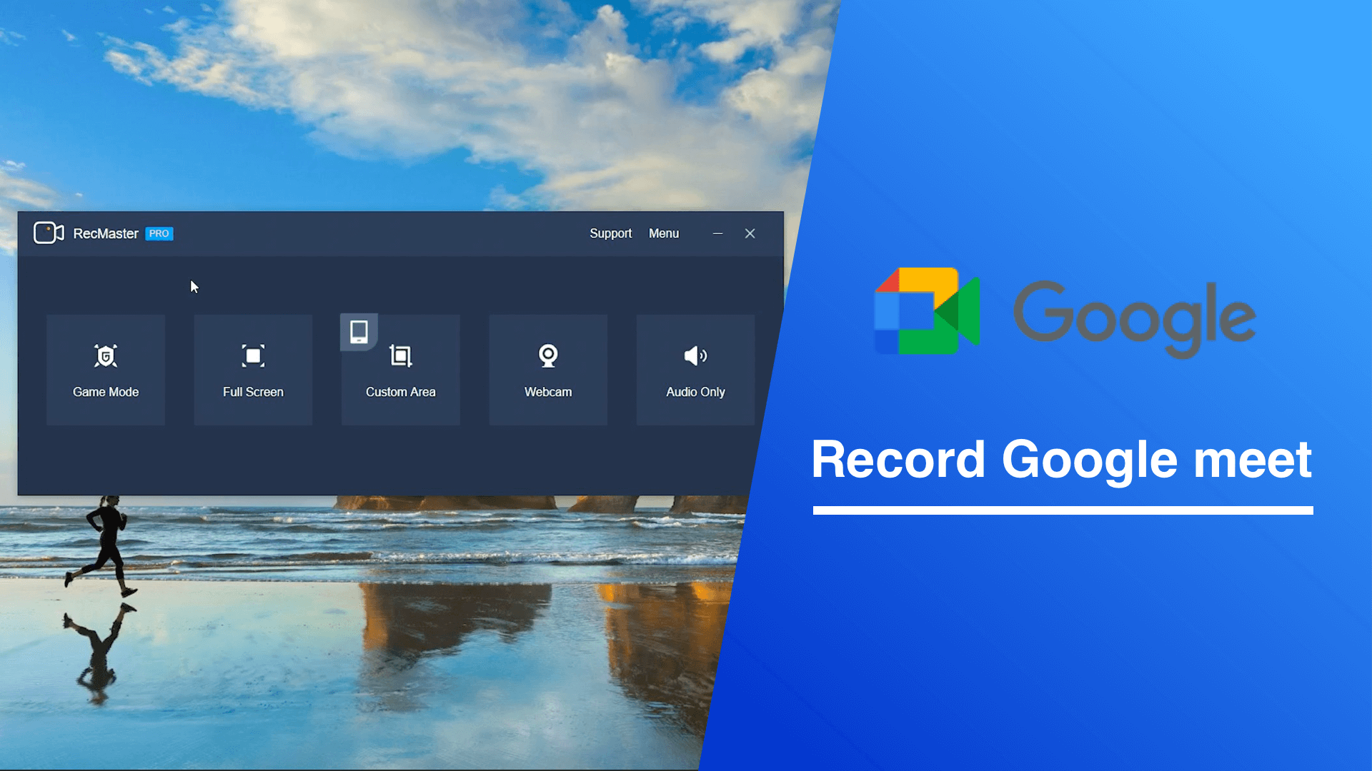 How to record online meeting from Google Meet