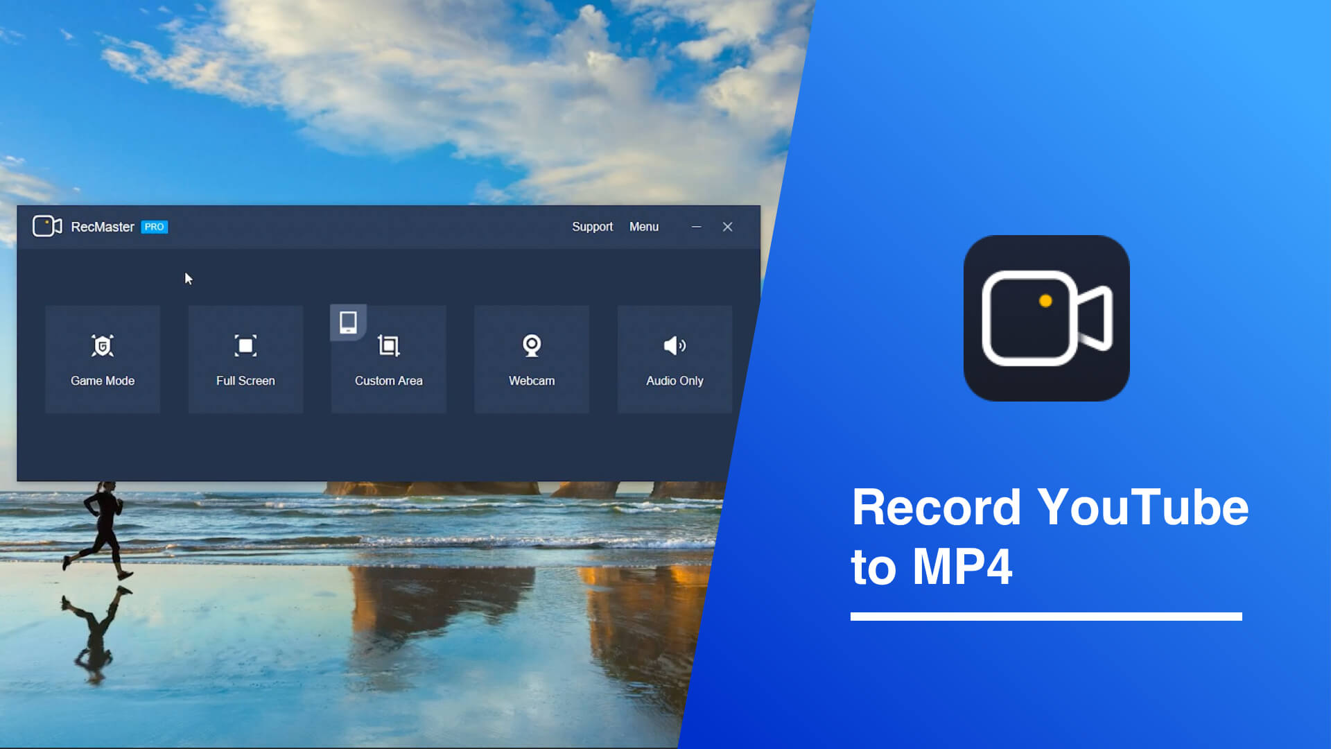 Cover of recording YouTube to MP4