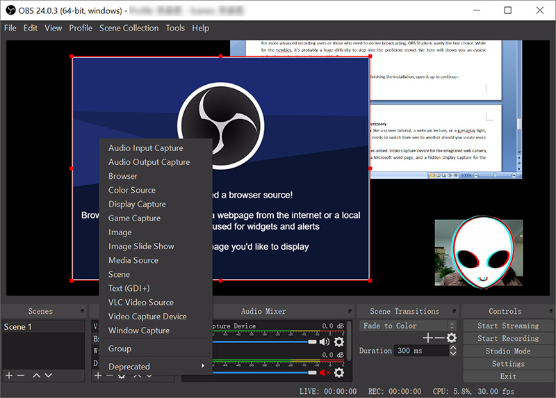 BEST MP4 SCREEN RECORDER FOR LINUX - OBS STUDIO