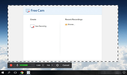 Best Free Screen Recorder for Windows - Free Cam
