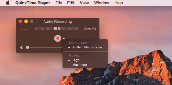 How to Screen Record on Mac with QuickTime 2