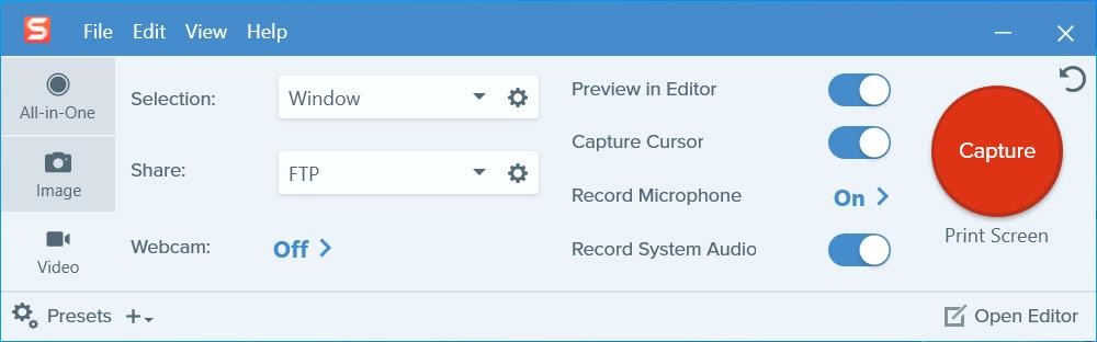 Snagit Mac Screen Recorder with Audio