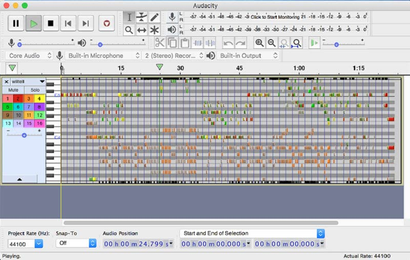 Audacity for Mac Voice Recording