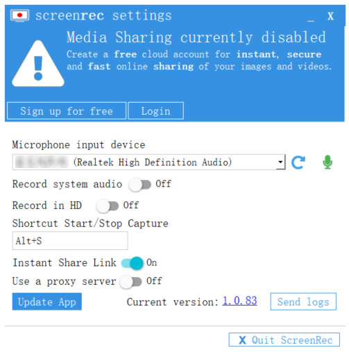 Best Screen Recorder with Audio - ScreenRec