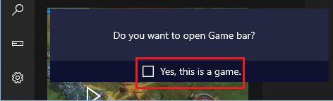 How to find Game Bar on windows 10