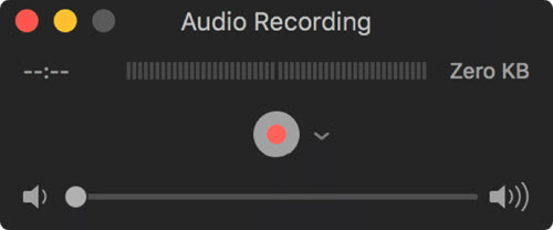 Voice Recorder Mac - QuickTime Player