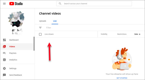 YouTube can Archive Live Stream Video