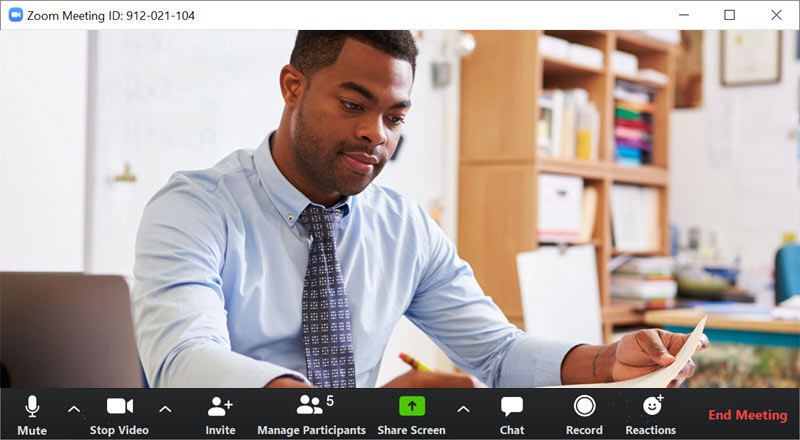 Zoom Meeting's Built-in Recording Feature