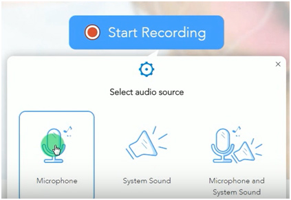 Apowersoft Select Audio Source
