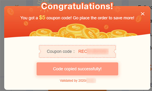 RecMaster $5 Coupon