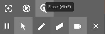 Screencastify's Toolbar
