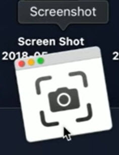 Screenshot App on MacBook