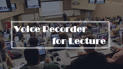Voice Recorder for Lecture