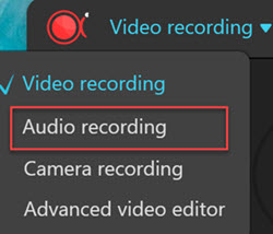 Apowersoft recording mode 2