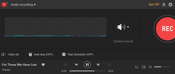 Apowersoft recording audio sounds