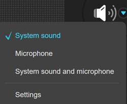 Apowersoft Select Audio Options