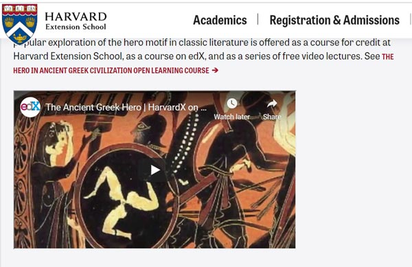 open lecture website