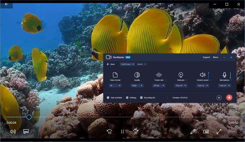 RecMaster Windows Screen Grabber Record Video