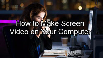 How to Make Screen Video Cover