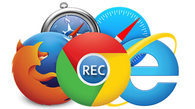 how to record browser tab