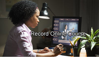 How to Record Online Course as a Teacher or Student