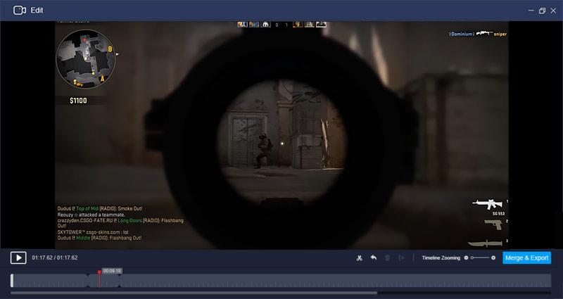 Edit CS: GO recording