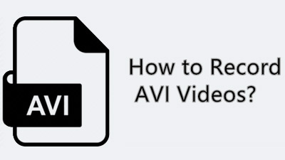 Record AVI on Windows PC