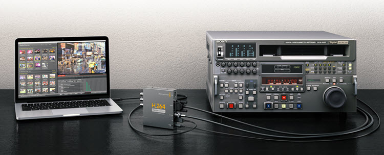h264 recorder from blackmagicdesign