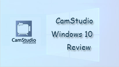 CamStudio Windows 10 Review
