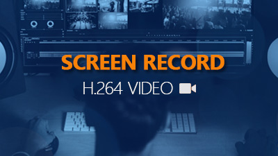 screen record h.264 video