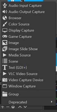 OBS Source Options