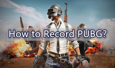 The Cover of How to Record PUBG