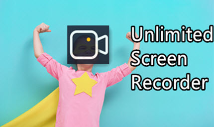What Does Unlimited Screen Recorder Look Like?