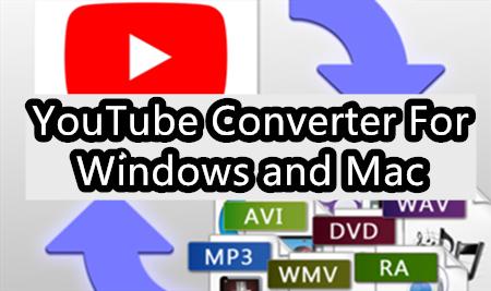 MP4/MP3 YouTube converter for Windows/Mac