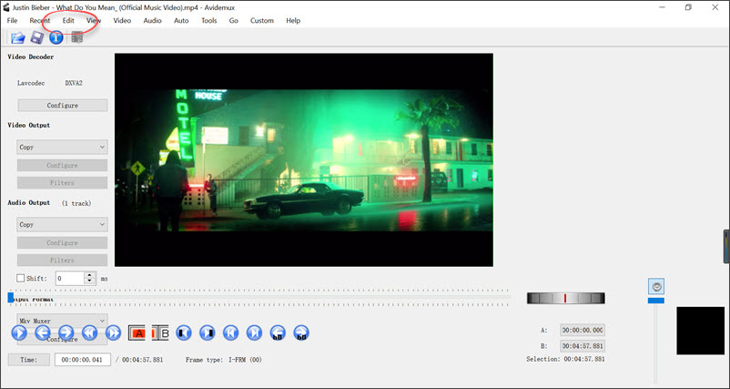 Avdemux Free Video Editor