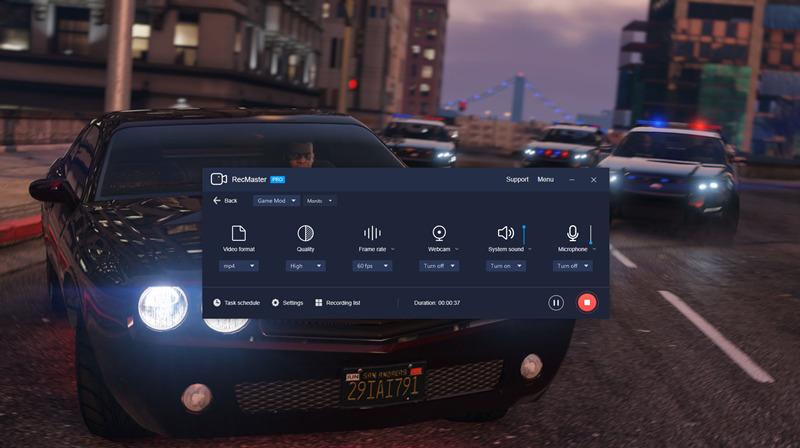 RecMaster Records Vivid In-Game Scenes of GTA 5