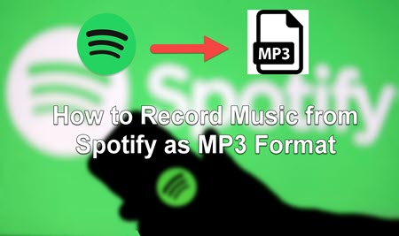 Cover of how to record music from spotify