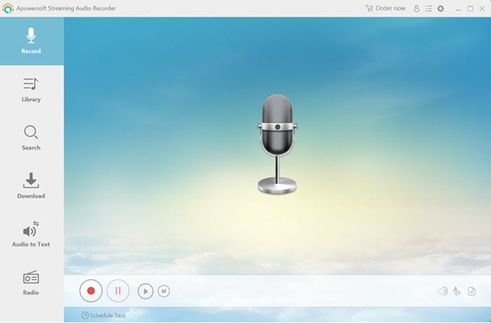 Apwersoft streaming audio recorder
