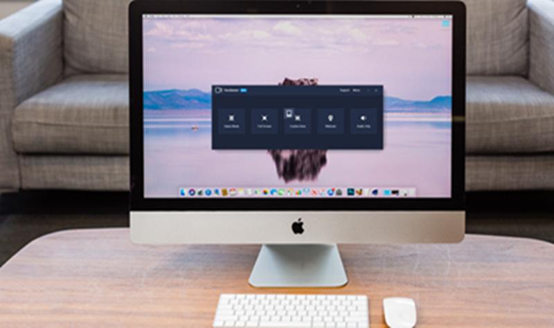 iMac Screen Recorder Records Desktop