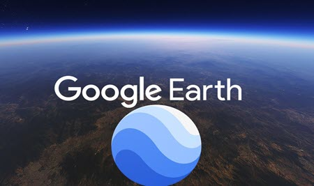 Cover of record google earth