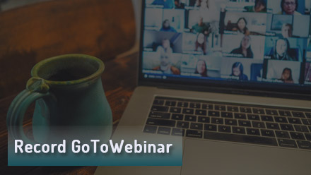 How to Record GoToWebinar (Live) Webinar, Even as an Attendee?