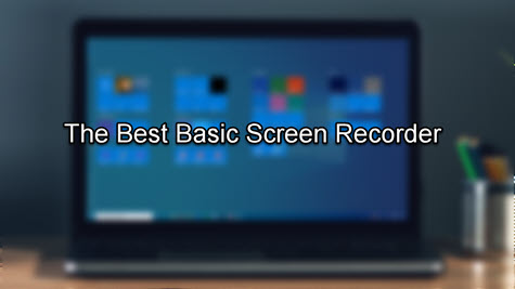 Cover of basic screen recorder