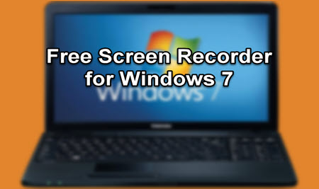 cover of free screen recorder for windows 7