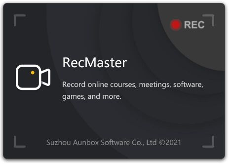 Launch RecMaster