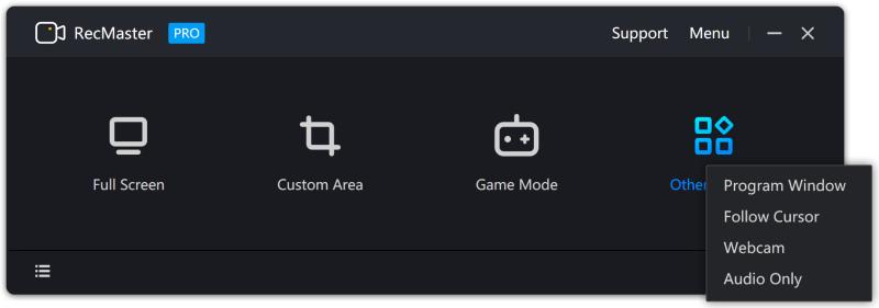 RecMaster Main Interface 2.0