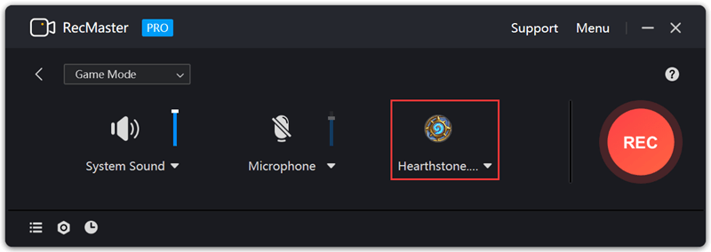 Record Hearthstone Gameplay step3