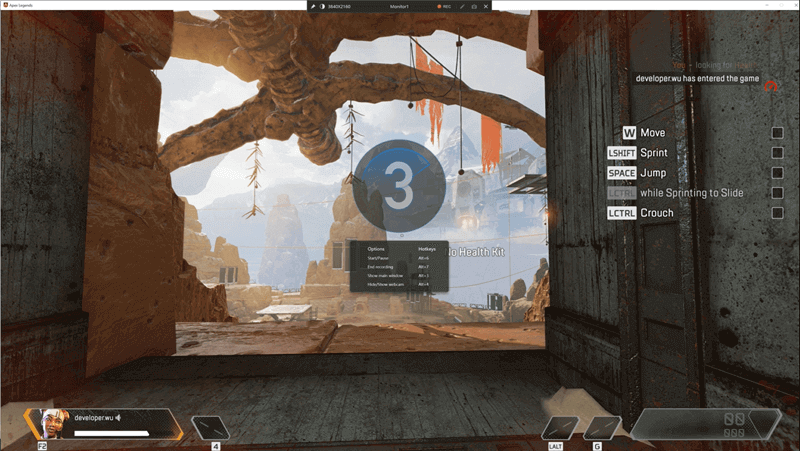 Record Apex Legends Gameplay step3