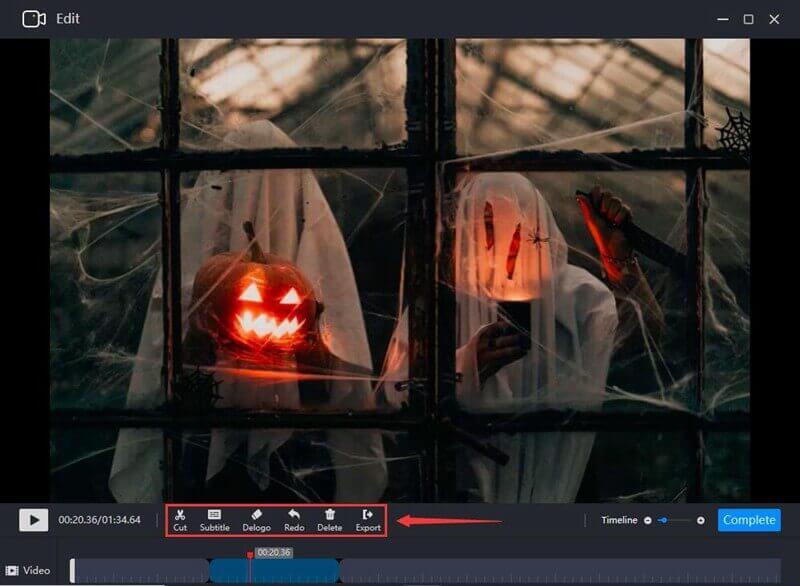 Create Halloween Prank Videos edit
