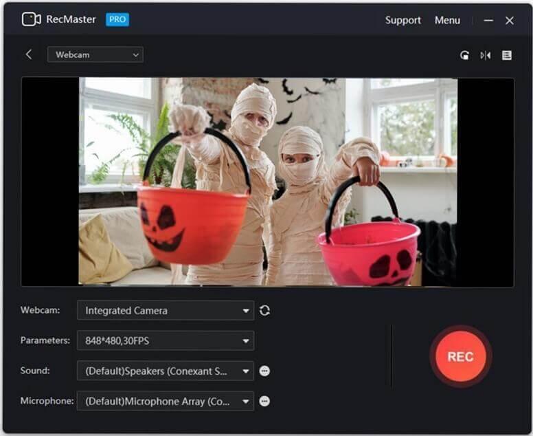 Create Halloween Prank Videos for YouTube webcam